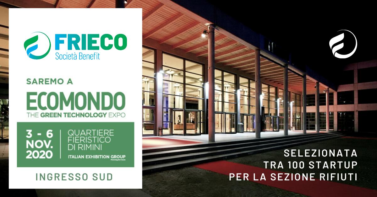 Frieco ad EcoMondo 2020